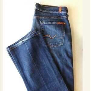 7 For All Man Kind Women's Size 30 Boot Cut Jeans